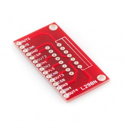 Breakout Board for L298N Full-Bridge Motor Driver