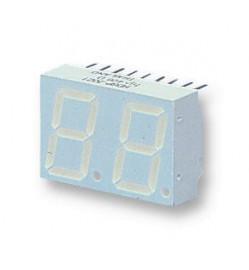 2 Digit 7 Segment LED DISPLAY, 0.56