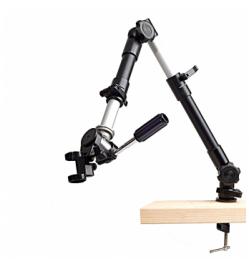 Dino-Lite MS52B Flexible Arm Top Swivel with Base C-Clamp