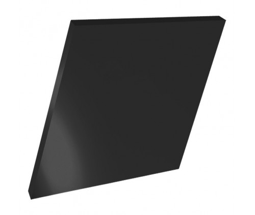 10mm Black Acrylic - 100cm x 100cm