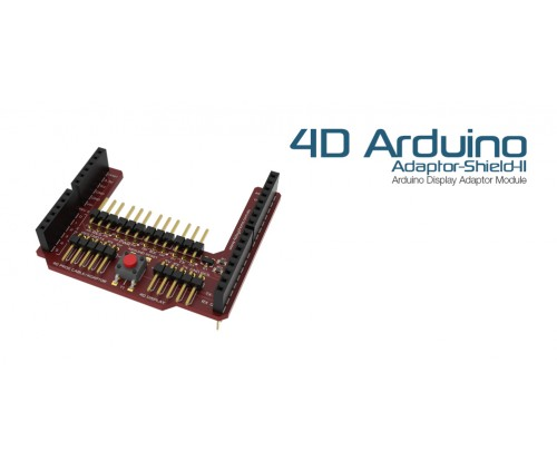 4D-Arduino-Adaptor-Shield-II