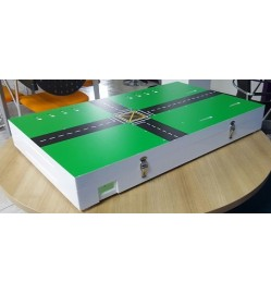 Acrylic Box for Traffic Simulation