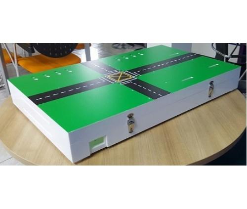 Acrylic Box for Traffic Simulation