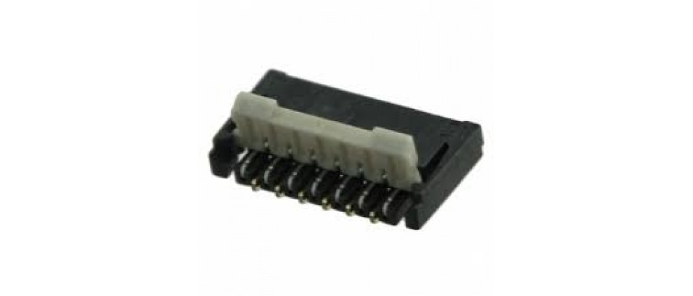 13 Position FPC Connector Contacts, Top and Bottom 0.012