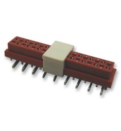 MULTICOMP  4409SM-06-CP  Board-To-Board Connector, 4409SM Series, Surface Mount, Receptacle, 6 Contacts, 2.54 mm