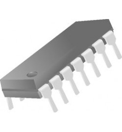 TEXAS INSTRUMENTS  SN74ACT14N  Inverter Gate, ACT Family, Schmitt Trigger, 1 Input, 24 mA, 4.5V to 5.5V, DIP-14