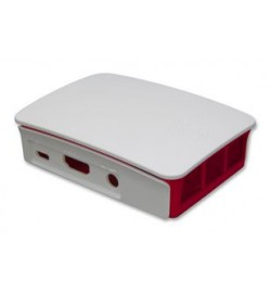 Offical Raspberry Pi Case, Red, White