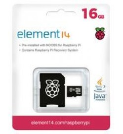16GB Micro SD Card with NOOBS for Raspberry Pi Software Installation