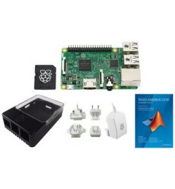 Raspberry Pi 3 and MathWorks Learn to Program Pack Starter Kit