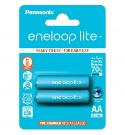 Panasonic eneloop lite AA rechargeable Battery 950 mAh 1.2 V (2pcs)