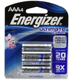 AAA Energizer Ultimate Lithium Battery (4pcs)