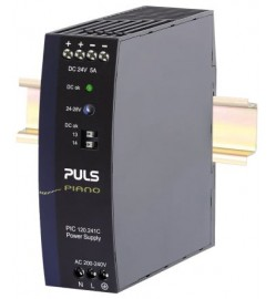 120W DIN Rail Power Supply PIANO, 24V dc to 28V dc, 5A