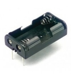 2AA PCB Mount Battery Holder