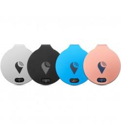 TrackR Bravo Bluetooth Tracker - Black, Silver, Blue, Rose Gold [4 Units]
