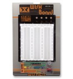 WISHER  WB-106 - Breadboard, Solderless, 195mm x 240mm
