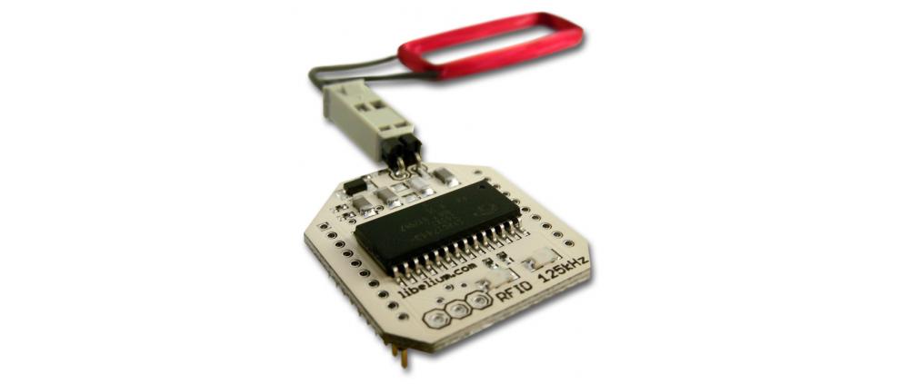 RFID 125 KHZ MODULE FOR ARDUINO / RASPBERRY PI / WASPMOTE