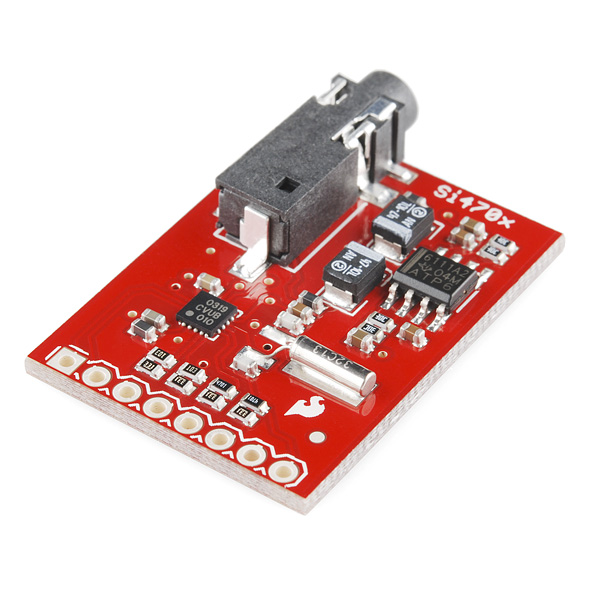 SparkFun FM Tuner Evaluation Board – Si4703